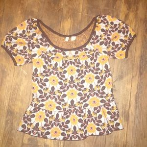 Anthropologie xs top